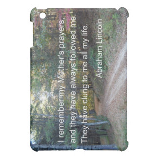I remember my Mother s prayers Cover For The iPad Mini