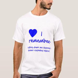 """I REMEMBER~"" tshirt template"