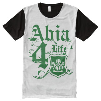 I rep Abia All-Over Print Shirt
