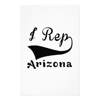 I Rep Arizona Stationery