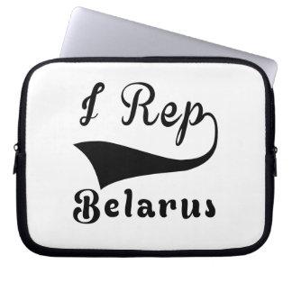 I Rep Belarus Laptop Sleeve