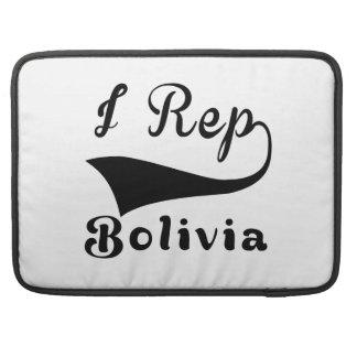 I Rep Bolivia MacBook Pro Sleeves