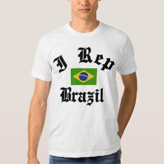 I rep Brazil T Shirt