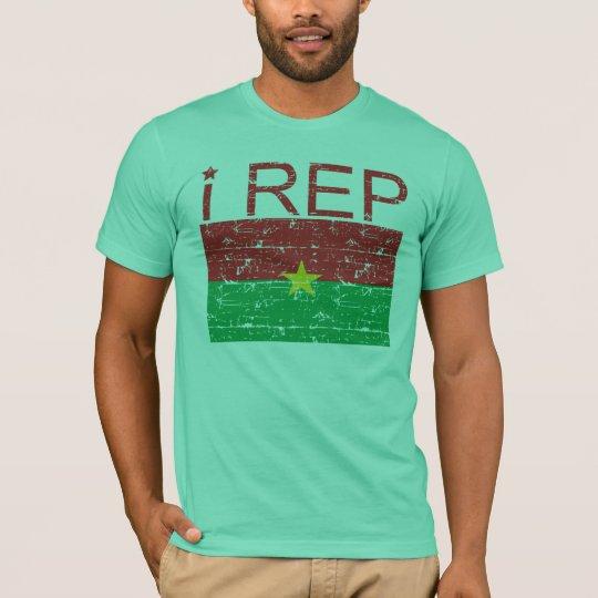 I rep Burkina Faso T-Shirt