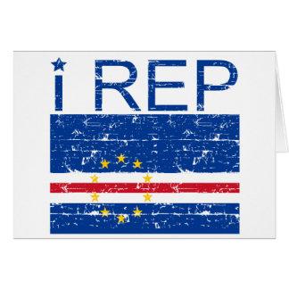 I Rep Cape Verde Card