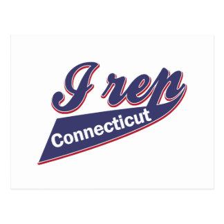 I Rep Connecticut Postcard