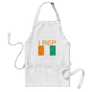 I rep Cote D Ivoire Apron