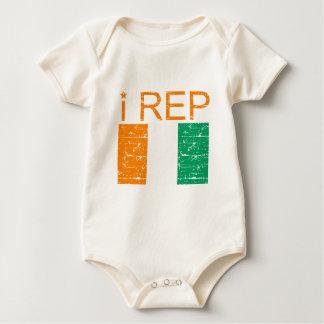 I rep Cote D' Ivoire Baby Bodysuit