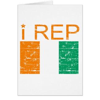 I rep Cote D' Ivoire Card