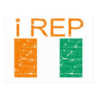 I rep Cote D' Ivoire Postcard