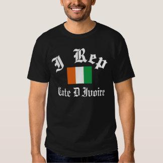 I rep Cote D' Ivoire T-Shirt