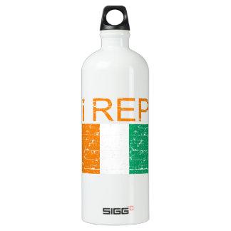 I rep Cote D' Ivoire Water Bottle