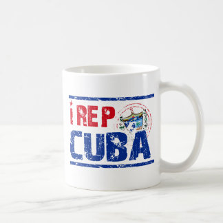 I rep cuba coffee mug
