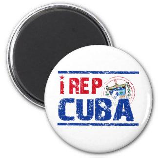 I rep cuba refrigerator magnets