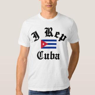 I rep Cuba T Shirt