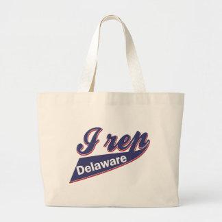 I Rep Delaware Large Tote Bag