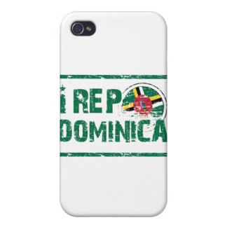 I rep Dominica iPhone 4/4S Cases