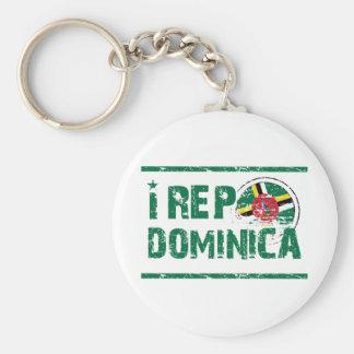 I rep Dominica Keychain