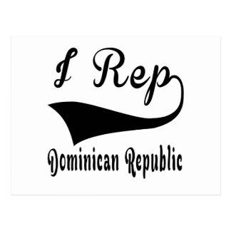 I Rep Dominican Republic Postcard