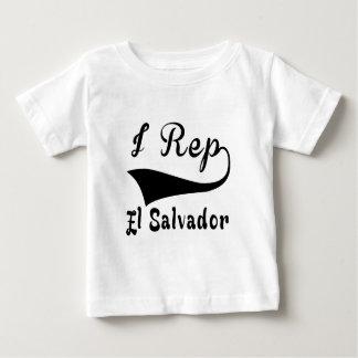 I Rep El Salvador Baby T-Shirt