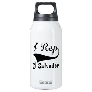 I Rep El Salvador Insulated Water Bottle