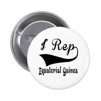 I Rep Equatorial Guinea Pinback Button