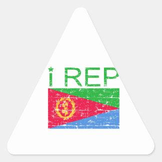 I rep Eritrea Triangle Sticker