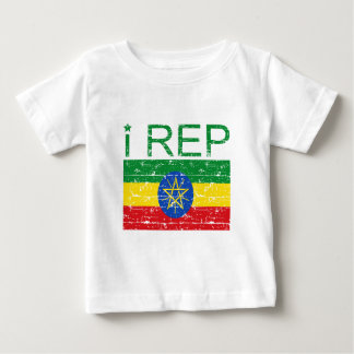 I rep Ethiopia Baby T-Shirt