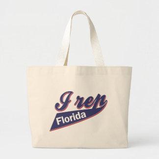 I Rep Florida Large Tote Bag