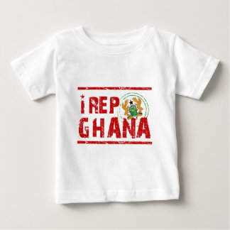I rep Ghana Baby T-Shirt