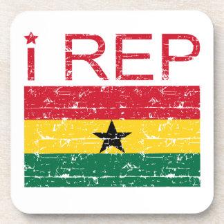 I rep Ghana Coaster