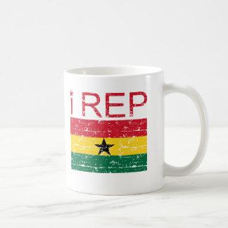 I rep Ghana Coffee Mug