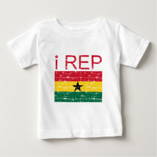 I rep ghana flag design baby T-Shirt