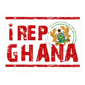 I rep Ghana Postcard