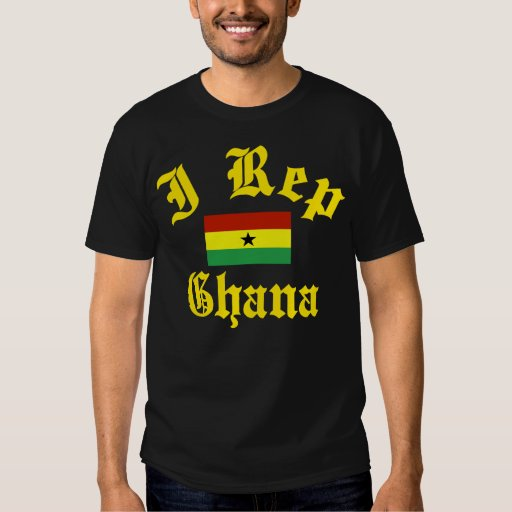 I rep Ghana Tee Shirts