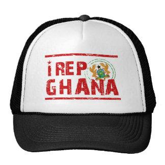 I rep Ghana Trucker Hat