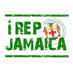 I rep Jamaica Postcard