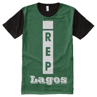 I rep Lagos All-Over Print T-shirt