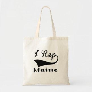 I Rep Maine Tote Bag