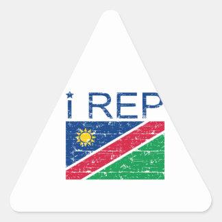 I rep Namibia Triangle Sticker