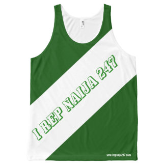 I rep Nigeria 247 All-Over-Print Tank Top