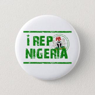 I rep Nigeria Button