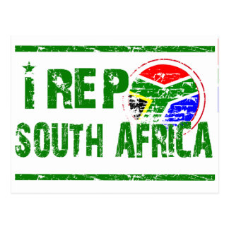 I rep South Africa Postcard