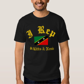 I rep St Kitts and Nevis T Shirt