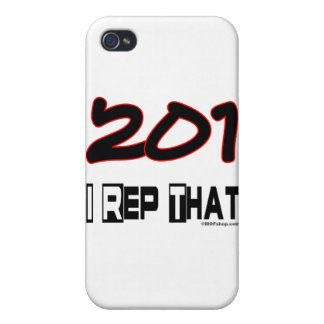 I Rep That 201 Area Code Cover For iPhone 4