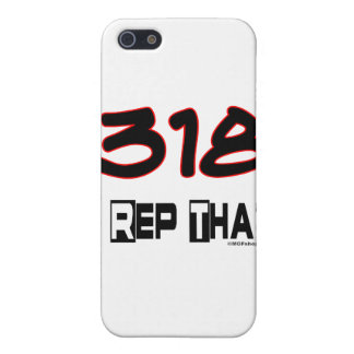I Rep That 318 Area Code Cover For iPhone SE/5/5s