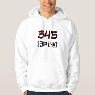 I Rep That 345 Area Code Hoodie