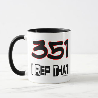 I Rep That 351 Area Code Mug
