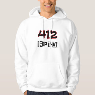 I Rep That 412 Area Code Hoodie
