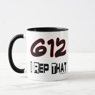 I Rep That 612 Area Code Mug